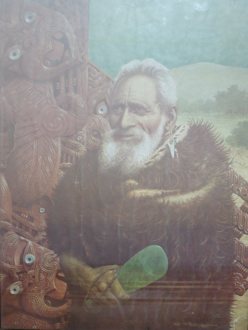 another 19th cent Maori chief in Taupo museum