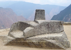 The astronomical observatory at Machu Picchu