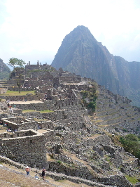 Classic view of Machu Picchu - click to see more on Flickr