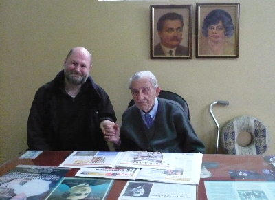 Me with Signor Cassinelli