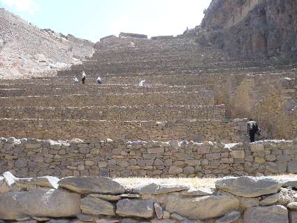 The Terraces at Ollantaytambo - click to see more on Flickr