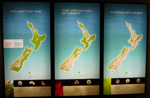 New Zealand Forest before and after European settlement