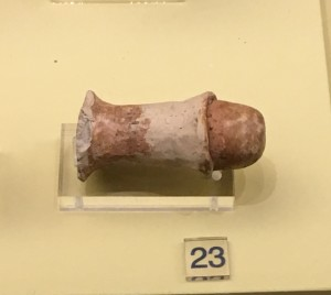 A Neolithic Phallus at the Larissa Museum