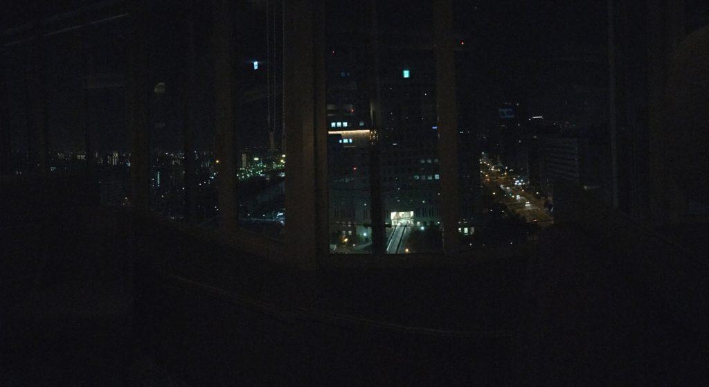 Osaka from 19th floor of Shin-Osaka Marriott