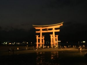 The Great Torii, Itsukushima Shrine, Miyajima