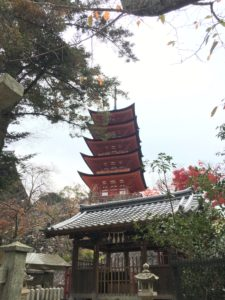 Five Tiered Pagoda, Miyajima