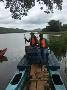 Boat ride with Rohana
