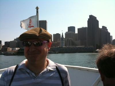 Me on the Ferry